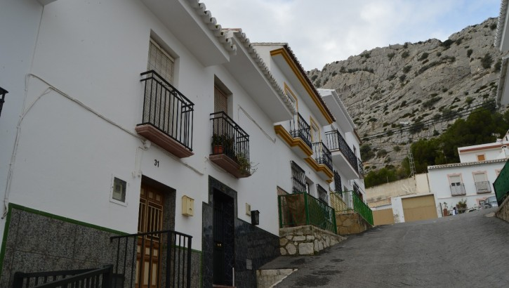 """AM120 – Nice townhouse in the centre of """"Valle de Abdalajis""""."""