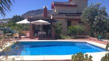 APA328- Quality built villa in Alora