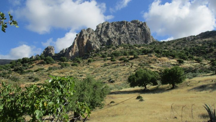 APA337- Charming two bedroom traditional country house in El Chorro, Alora